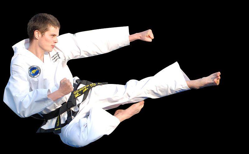 Taekwondo_kick